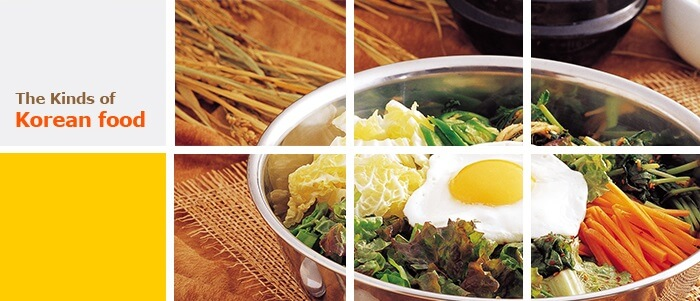 General Kinds of Korean Food