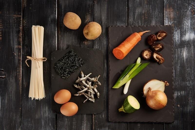 Ingredients of Korean Food