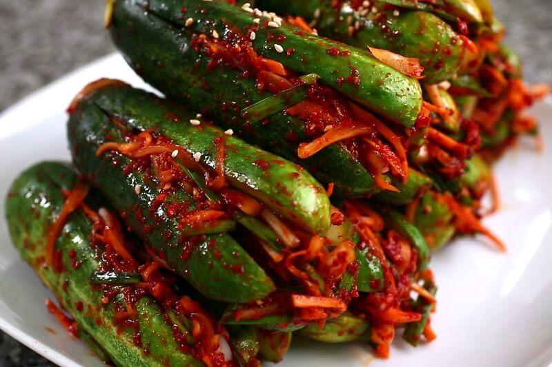Oi sobagi- Cucumber Kimchi