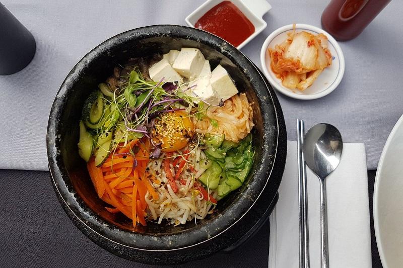 Tune and Kimchi Bibimbap