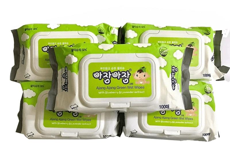 Baby wet wipe Korea