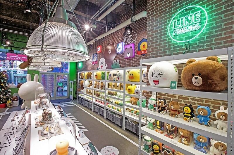 Character store in Korea