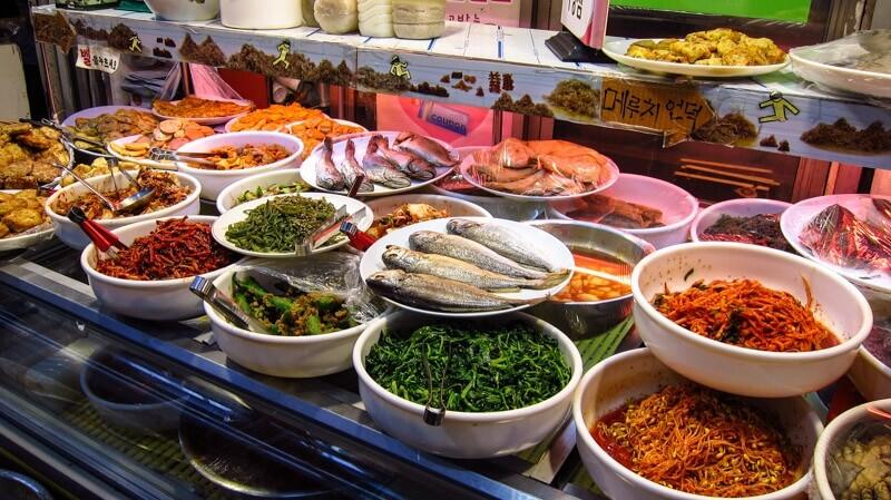 Food at Tongin Market