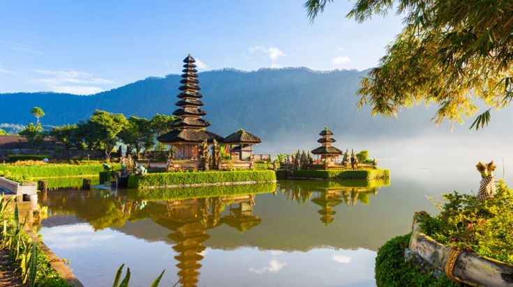 Bali has everything from hiking trails to ancient temples but it is best known for its beaches.