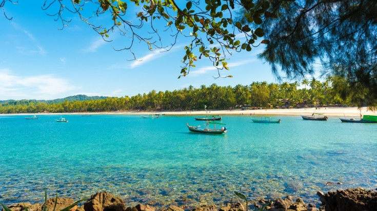 Unlike most beaches in Asia, Ngapali is peaceful without any of the noisy-touristy bars.