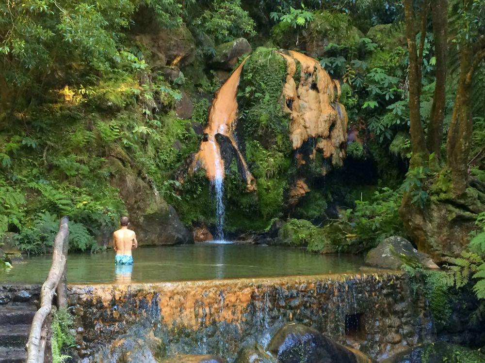 4-day itinerary of São Miguel Azores | Caldeira Velha
