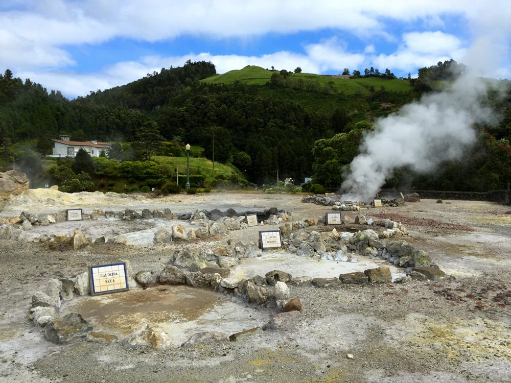 São Miguel itinerary in four days - Furnas