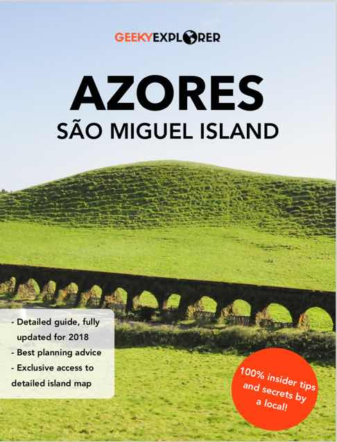 sao miguel ebook travel guide islands azores 2018 azorean geeky explorer