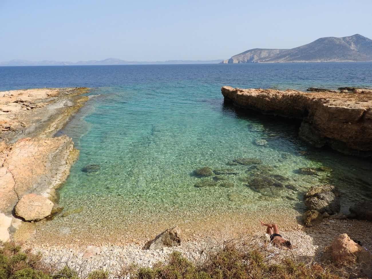 Koufonisia Travel Guide Quiet Beach