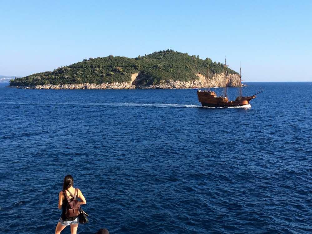 croatia road trip zadar - Lokrum island