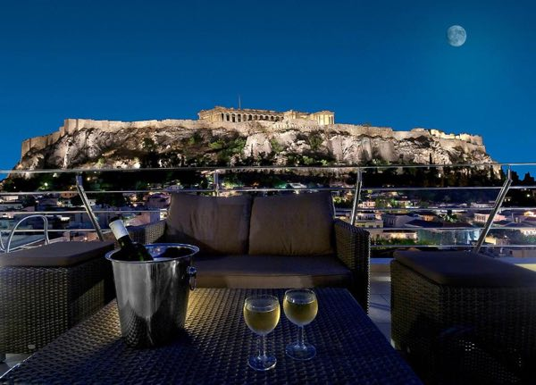 travel itinerary to greece athens place to stay