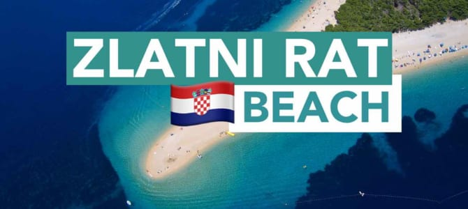 Zlatni Rat Beach – Tips to Brac Island, Croatia