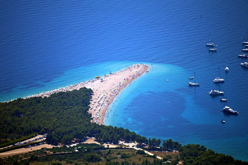 Zlatni Rat beach holidays - overview