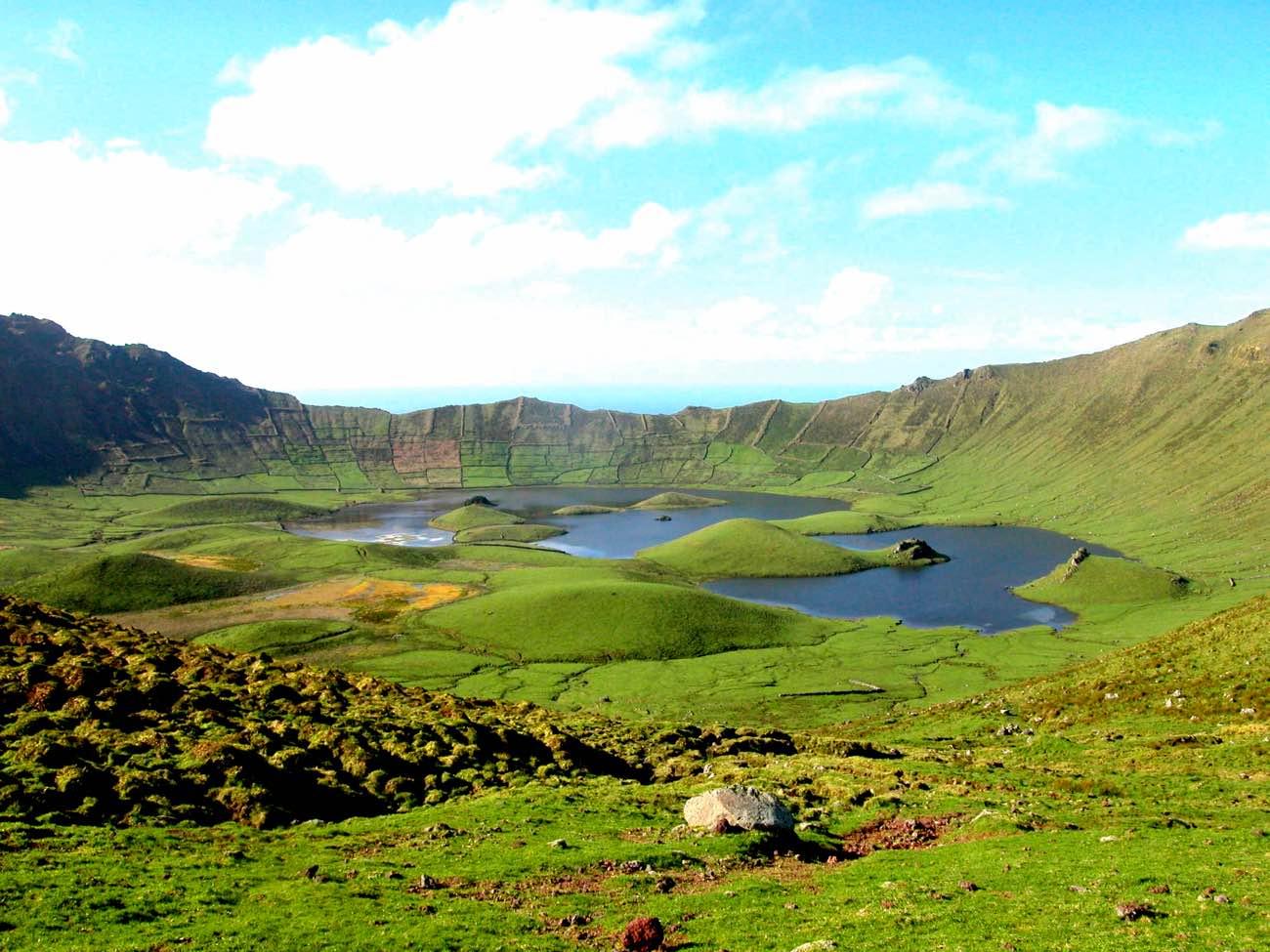 corvo island itinerary azores