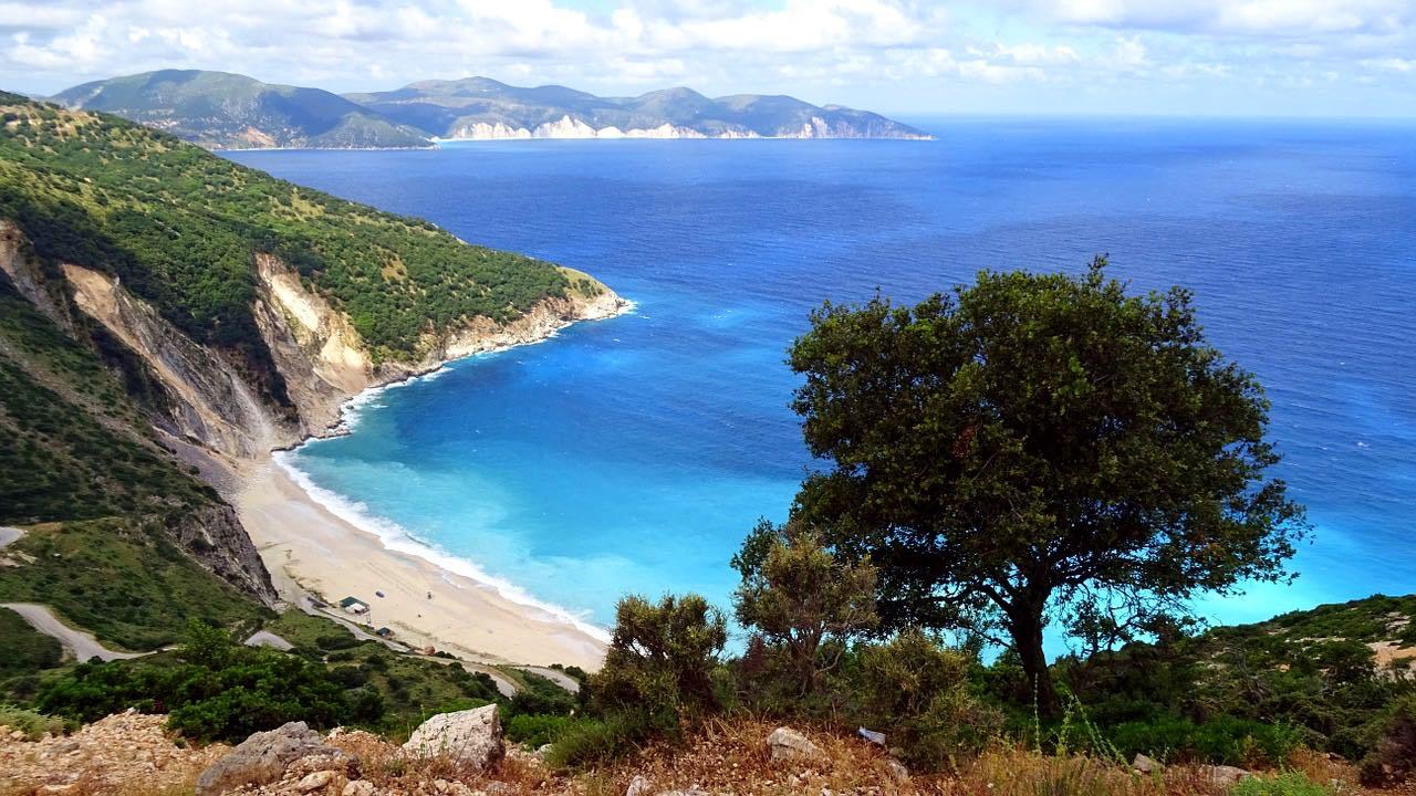 greece itinerary cephalonia island
