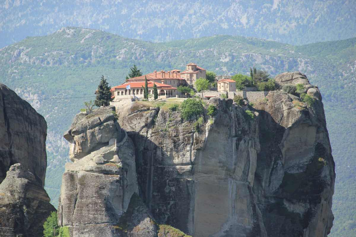 greece itinerary meteora