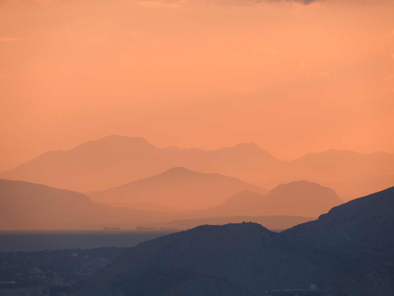 greece itinerary travel blog athens sunset