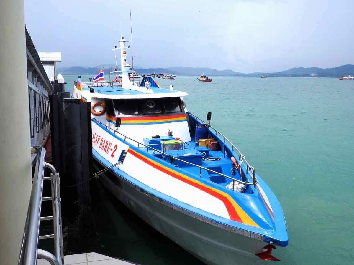 koh lipe blog langkawi to koh lipe ferry kuah jetty