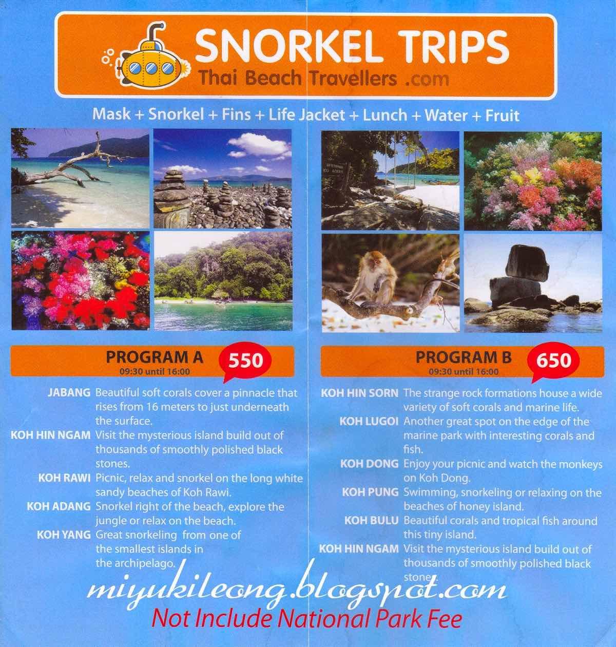 guide koh lipe blog snorkeling day trips