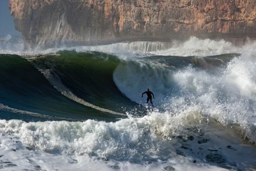 Visiting Portugal - Waves are great for surfing in Portugal