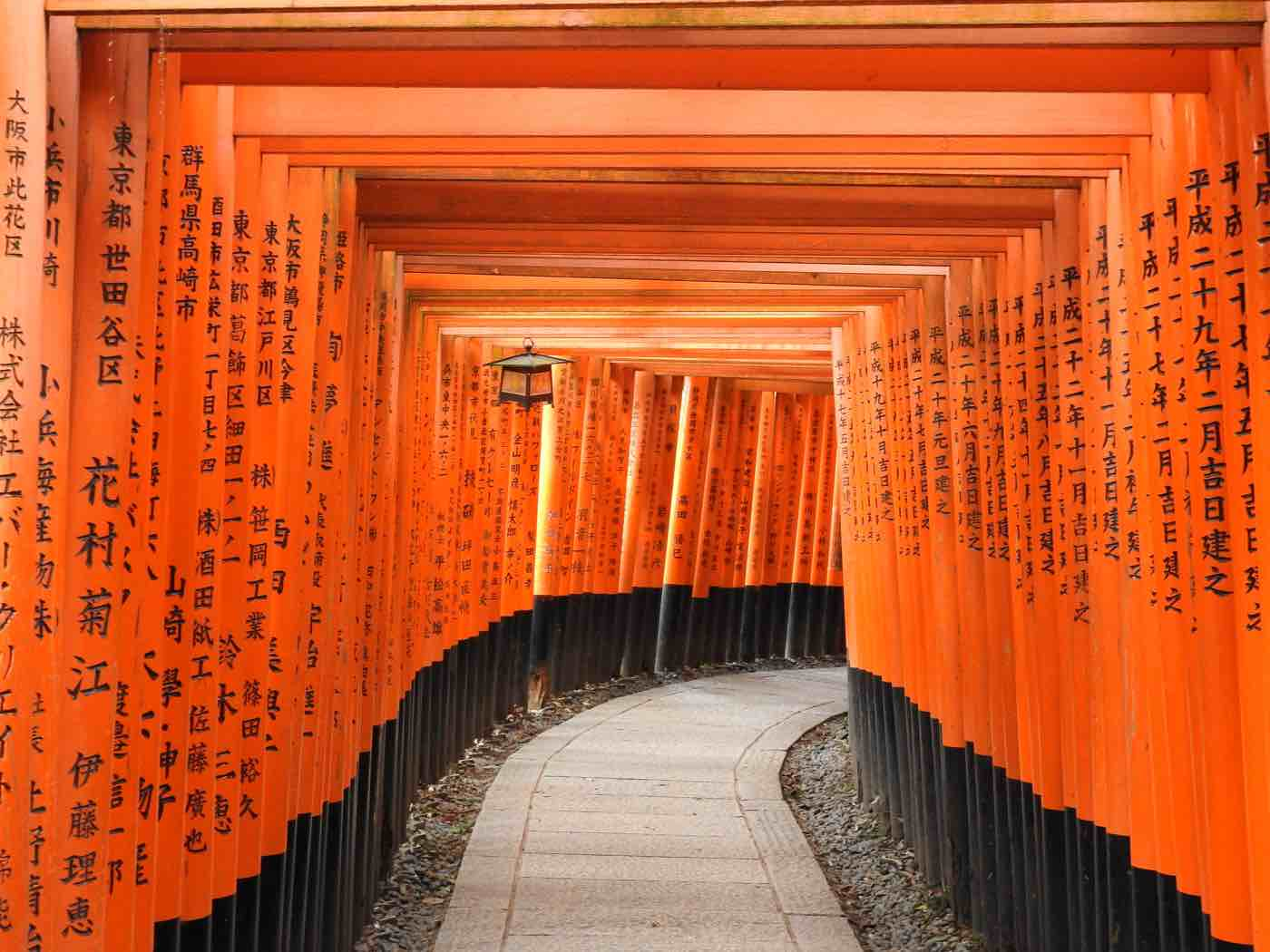 japan itinerary two weeks fushimi inari gates