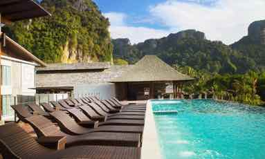 thailand itinerary islands railay beach hotel