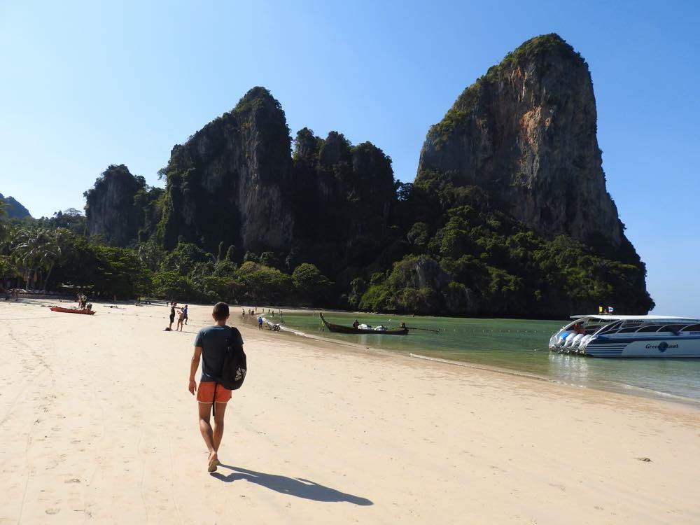 thailand island hopping railay beach
