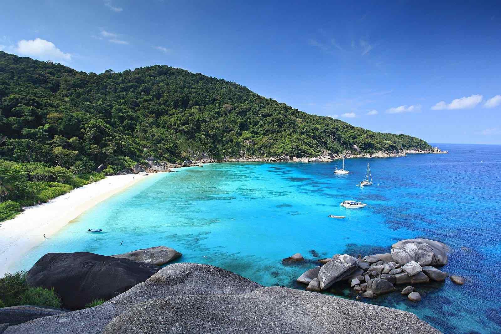 thailand island hopping similan islands