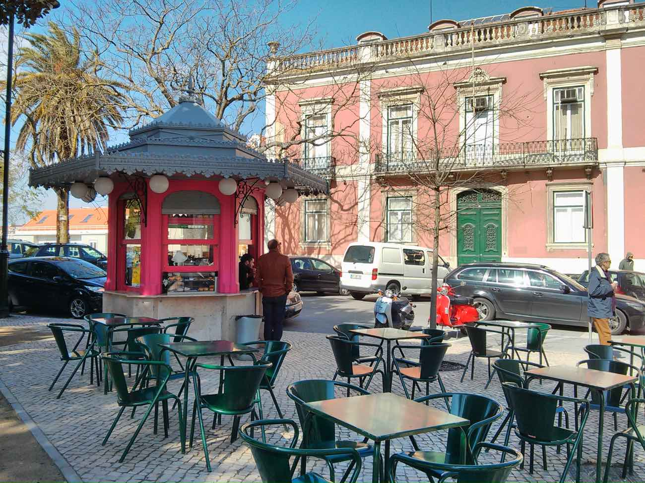 city guide lisbon travel blog principe real district kiosk