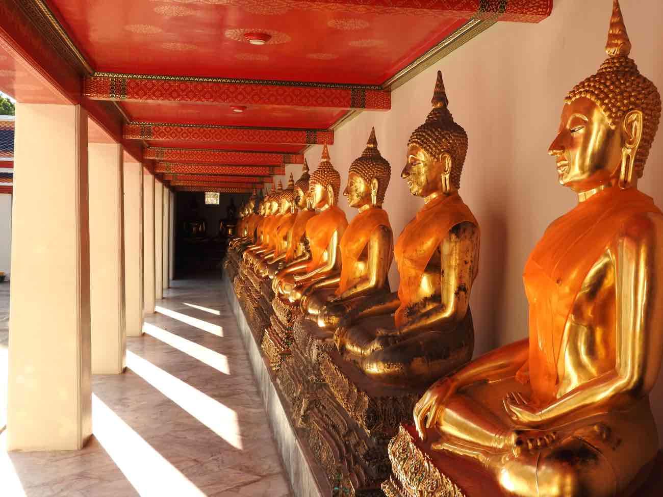 thailand itinerary 2 weeks bangkok buddha statues